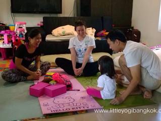มาฝึกโยคะครอบครัวกันไหม (Let's practice family yoga)