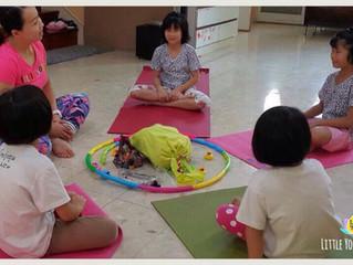 เด็กเล็กฝึกโยคะกับพี่ ๆ ได้หรือไม่
