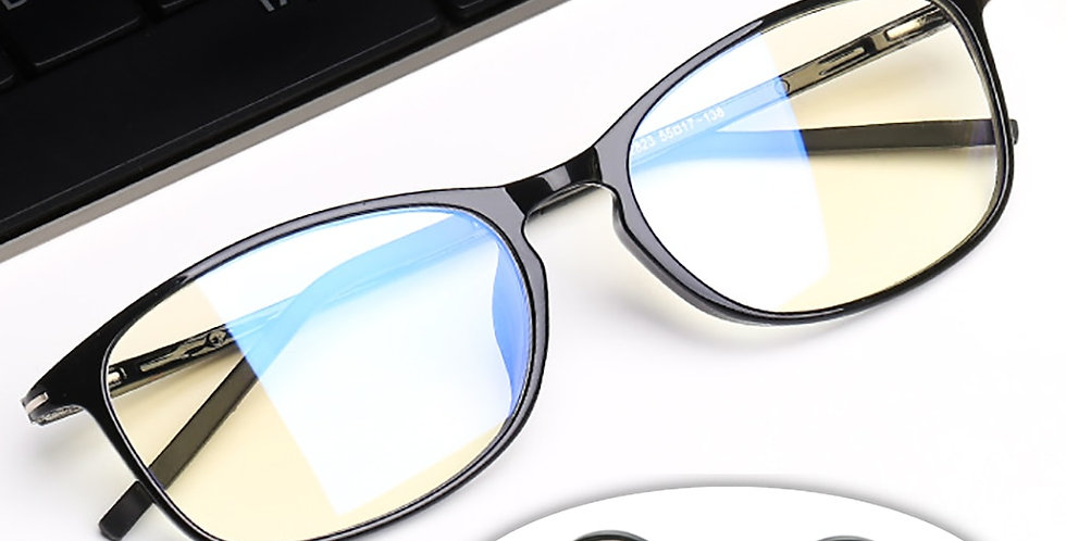 VIVIBEE Anti Blue Light Glasses Men Bluelight Radiation