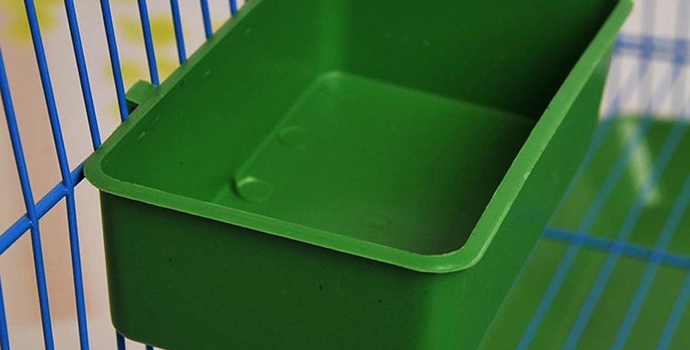 Multifunction Creative Green Food Tray Parrot Bathtub
