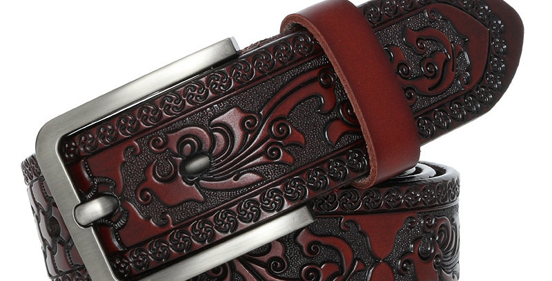 Belts for Men High Quality Cow Genuine Leather Designer Belt