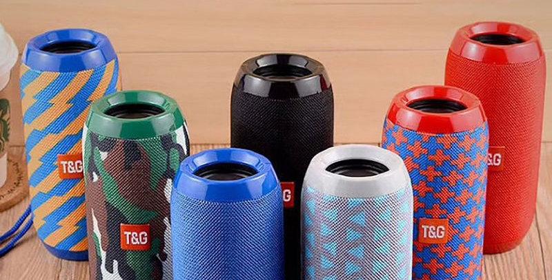 Waterproof Bluetooth Speaker Portable Outdoor Rechargeable Wireless Speakers