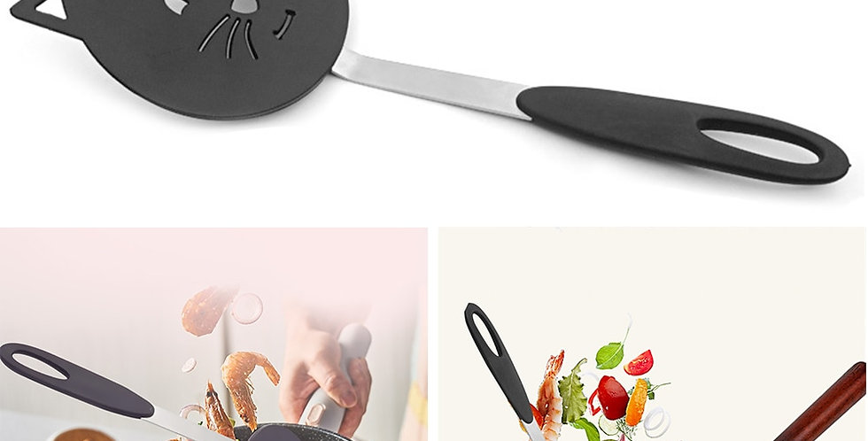 Creative Nylon Cat Frying Spatula Non Stick Omelette Shovel