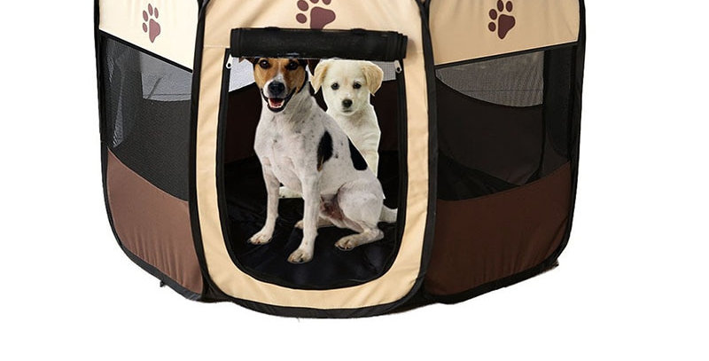 Pet Cage Portable Pet Tent Folding Dog House