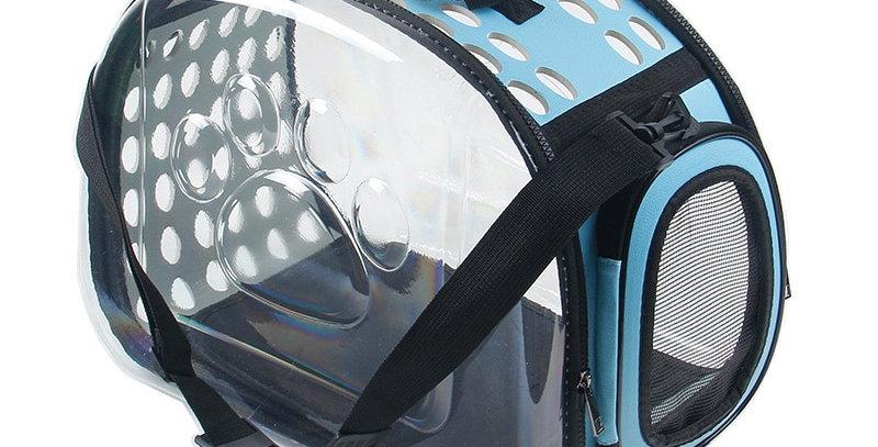 Transparent Pet Cat Dog Carrier Bag Capsule Foldable Breathable Pet Travel