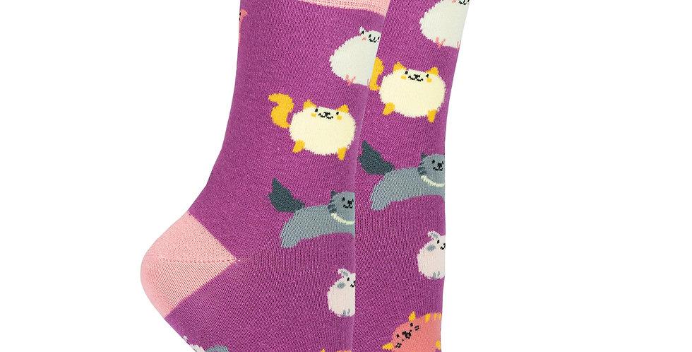 Women's Fatty Cats Socks