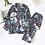 Thumbnail: New 100% Viscose Long-Sleeved Trousers Ladies Pajamas Suit