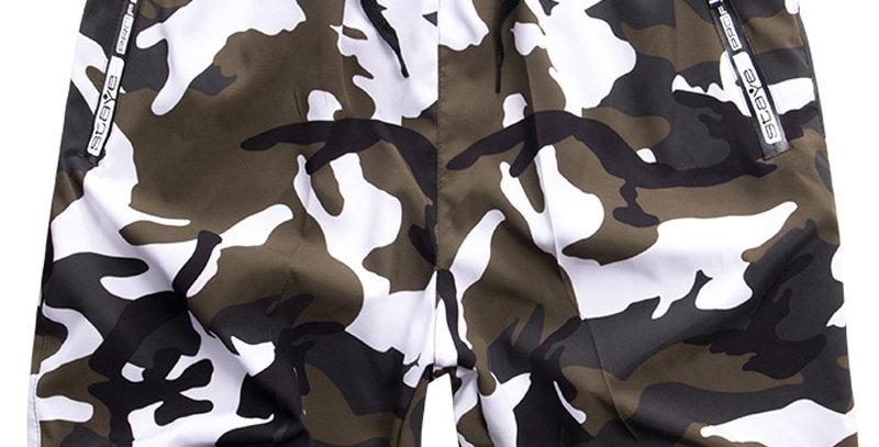 Big Size Camouflage Beach Board shorts Men Swimwear