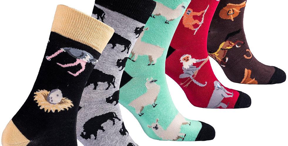 Men's Wilder Animal Socks