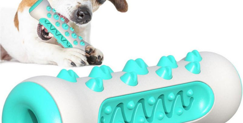 Dog Toothbrush Sticker Chew Toy