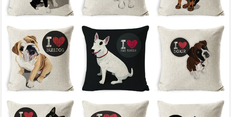 Cushion Covers Dog Pillow Cases