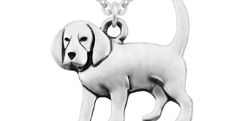 Women Necklace Punk Beagle & Coonhound Dog Charms