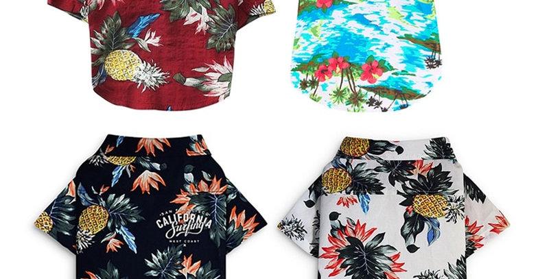 Dog Clothes Summer Beach Shirt Dog XS-XL