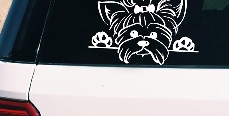 Terrier Vinyl Sticker Decals Car