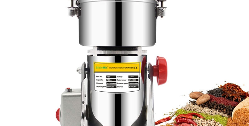 BioloMix 700g Grains Spices Herbals Cereals Coffee Dry Food Grinder