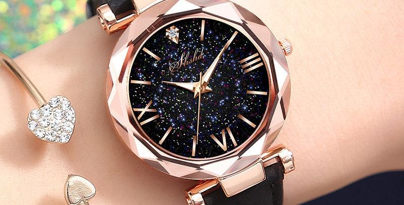 Women's Watch Luxury Watches Personality Starry Sky