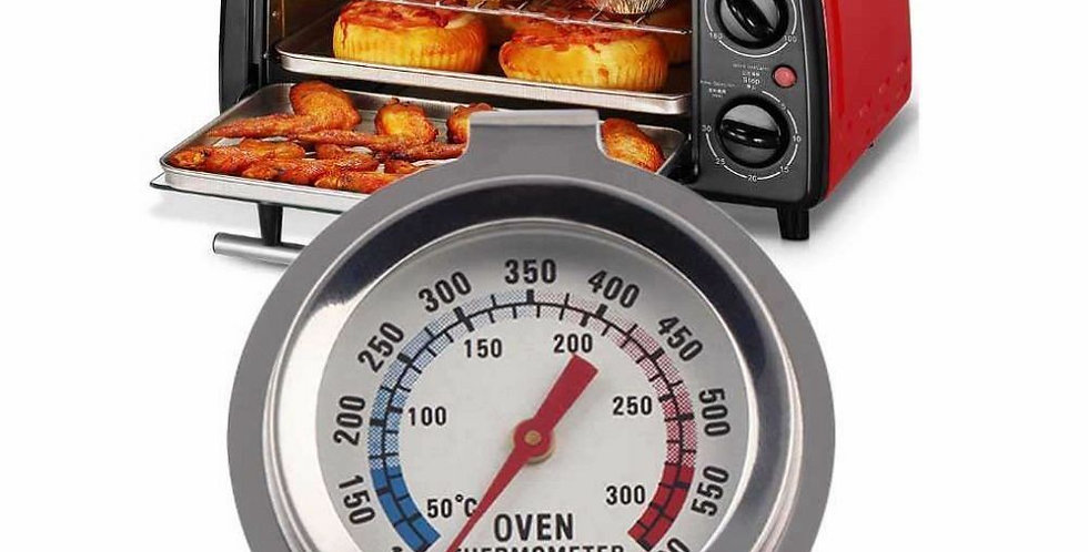 Kitchen Oven Thermometers Stainless Steel Food Meat Dial Thermometer