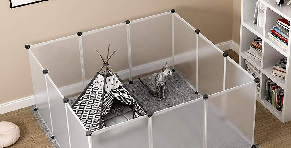 Pet Dog Fences Playpen DIY Freely Combined Multi-Functional