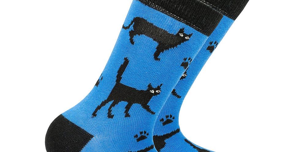 Kids Shadow Cat Socks