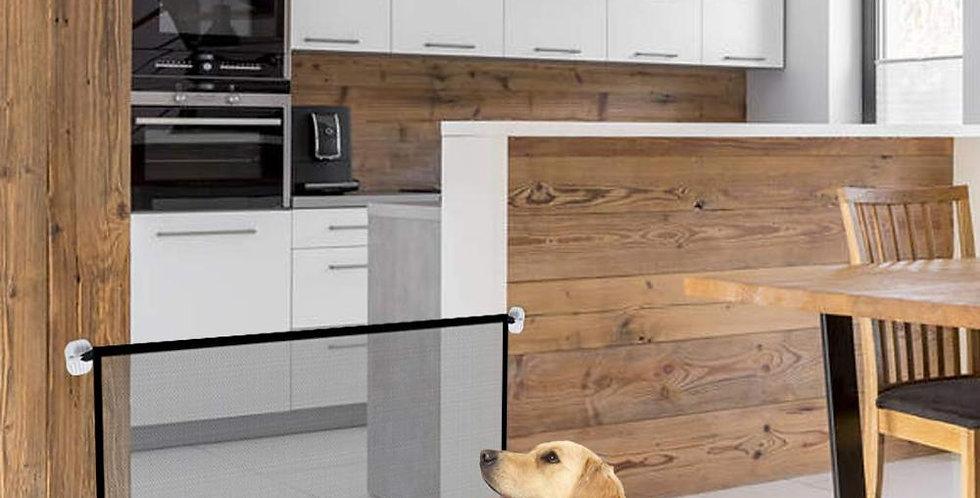 Pet Dog Gate Ingenious Mesh Magic Pet Gate for Dogs Safe Guard