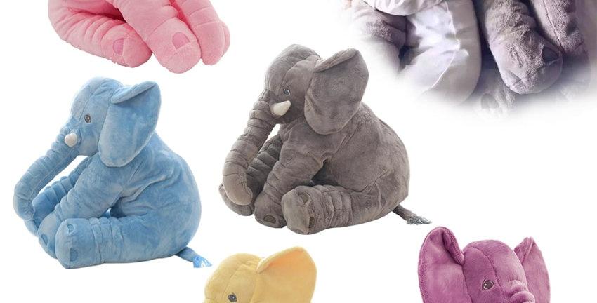 Fashion Baby Animal Plush Elephant Doll Stuffed Elephant