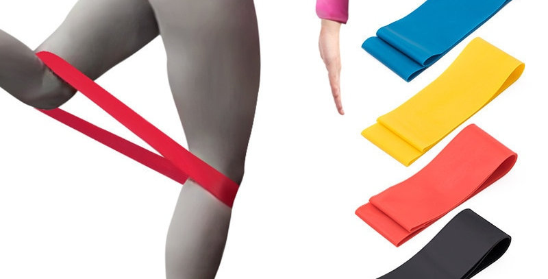 Resistance Bands With 5 Different Resistance  Yoga Bands