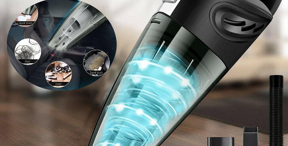120W Handheld Car Vacuum Cleaner Wireless Wet and Dry Mini