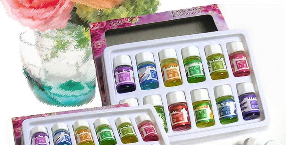 12 Bottles/Set Perfume Aroma Fragrance Essential Oil Set
