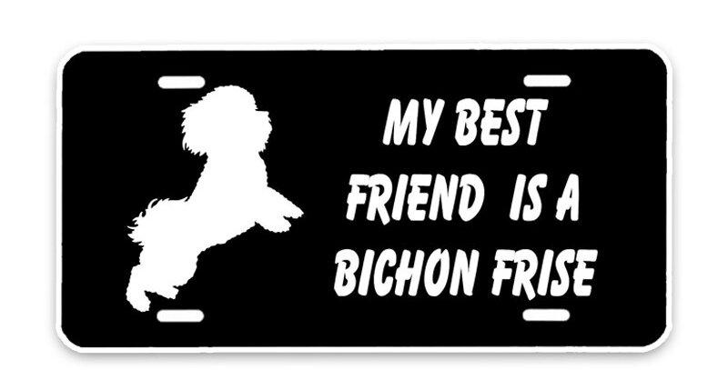 My Best Friend Is a Bichon Frisee