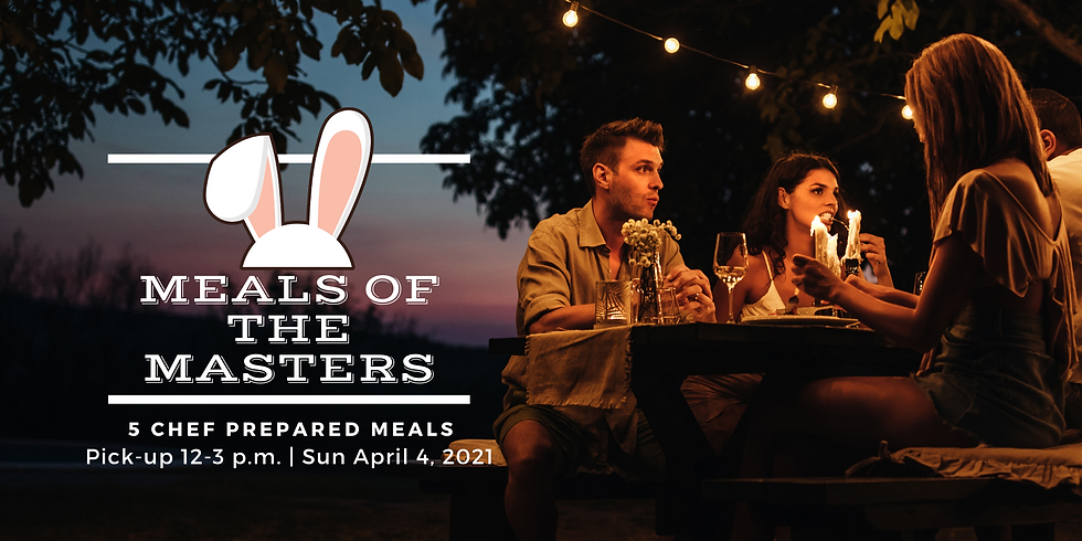 Meals of the Masters - Five for Thirty Five