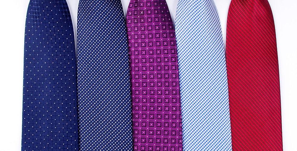 Classic Men Business Neck Tie Fashion Shirt Dress Accessories