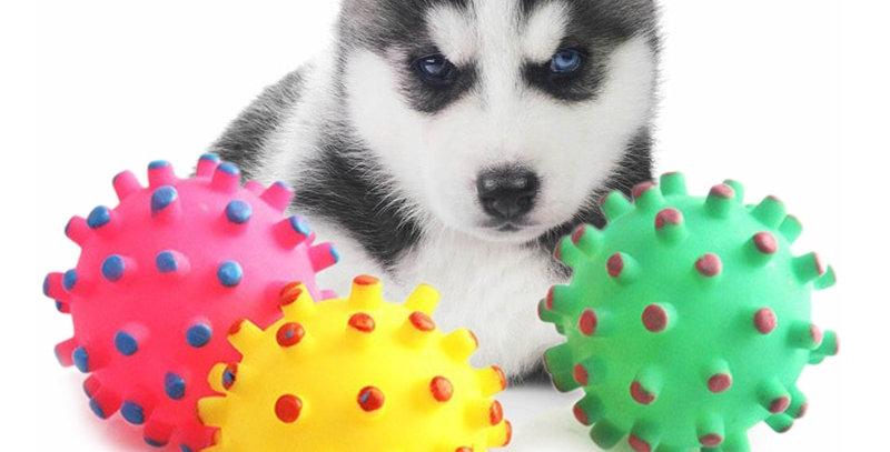1pcs Soft New Rubber Ball Pet