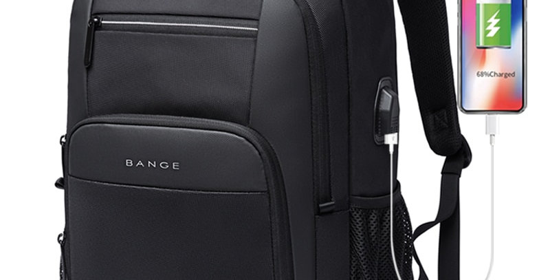 KAKA New Large Capacity 15.6 Inch Daily Backpack Multifunctional USB Charging