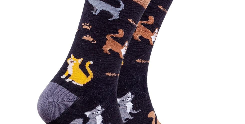 Men's Mrs.Kitty Socks