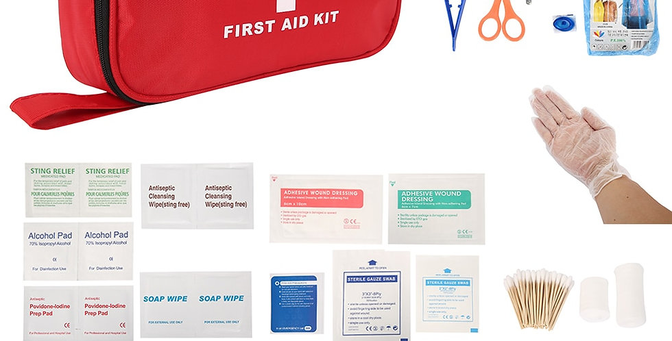 Portable First Aid Kit for Medicines Outdoor Camping