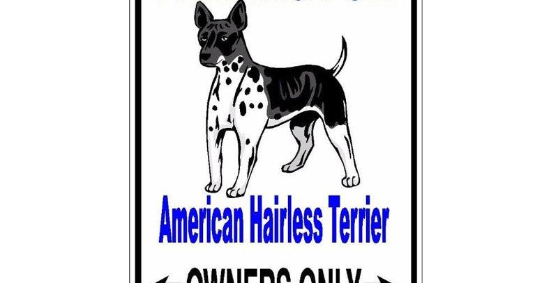 American Hairless Terrier Dog Car Decoration PVC Car Sticker Decal