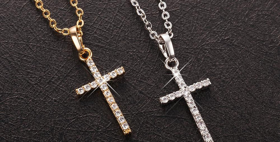 Fashion Female Cross Pendants