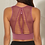 Thumbnail: Hot Fitness Women's T-Shirts Workout Sports Bra Yoga Vest Backless