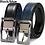 Thumbnail: Men's Genuine Leather Dress Belt, Reversible Belt for Men