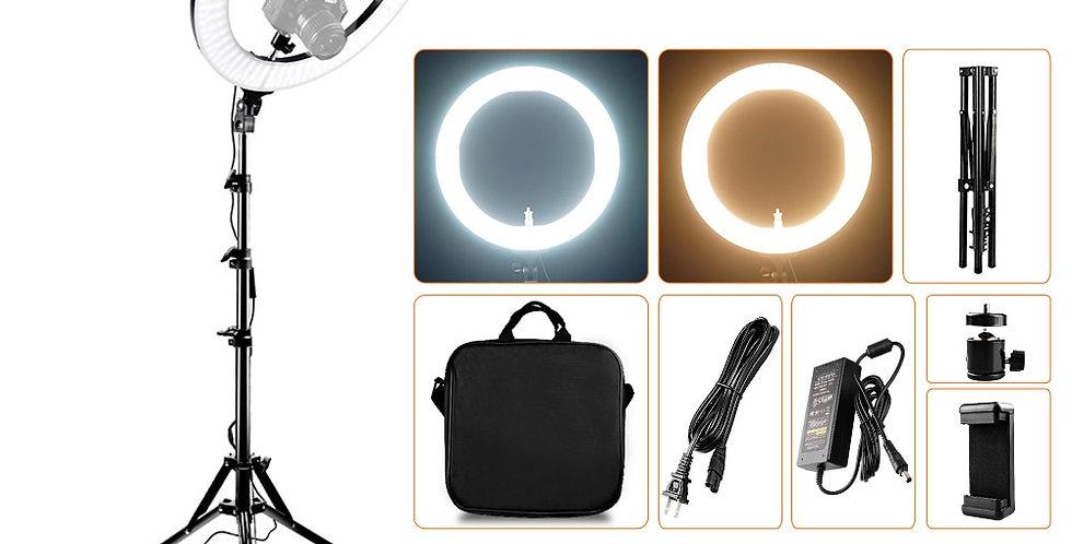 Capsaver 14 Inch 18 Inch Ring Light LED Video Light Makeup Lamp