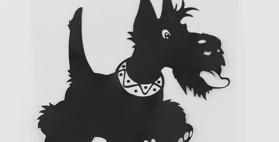 Scottish Terrier Dog Decal