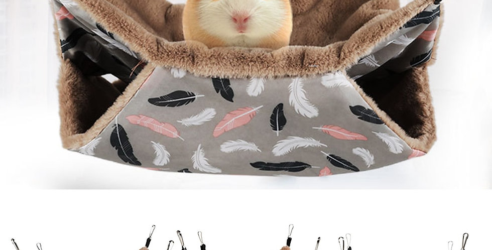 Warm Hamster Hammock Hanging Bed House