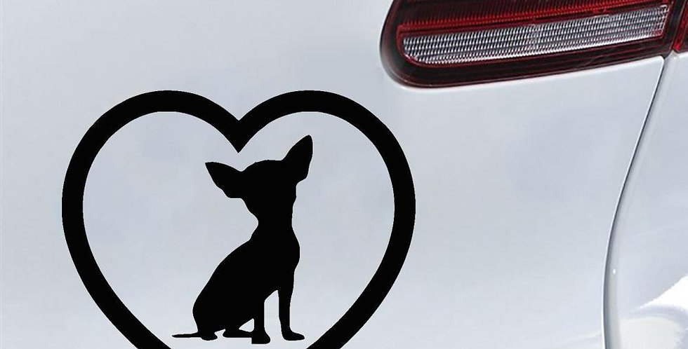 1 Pcs Car Sticker Dog PVC Sticker Dog Decals
