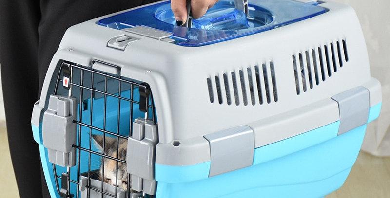 Pet Transport Bag Breathable Dog Cat Carrier Bag Case