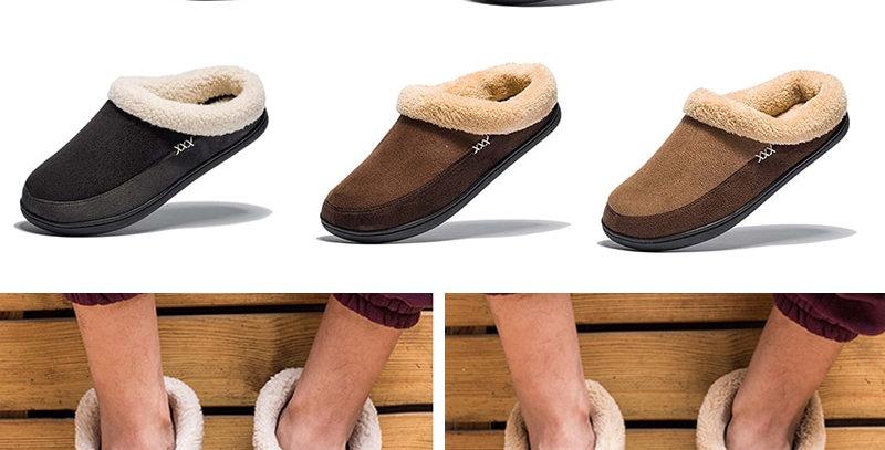 Cotton Slippers Men Shoes Bathroom Indoor Man