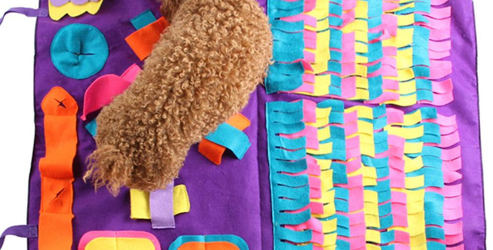 Pet Dog Snuffle Mat Pet Sniffing Training Blanket