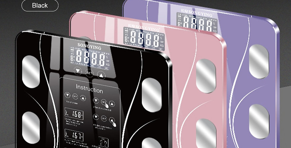 Weight Scale Body Fat Scales Intelligent Electronic Weight BMI Digital Scale