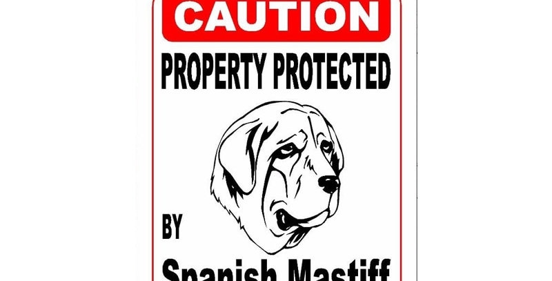 Property Protected by Spanish Mastiff