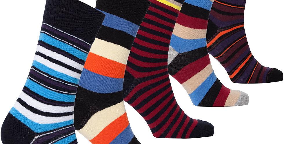 Men's Traditional Stripes Socks