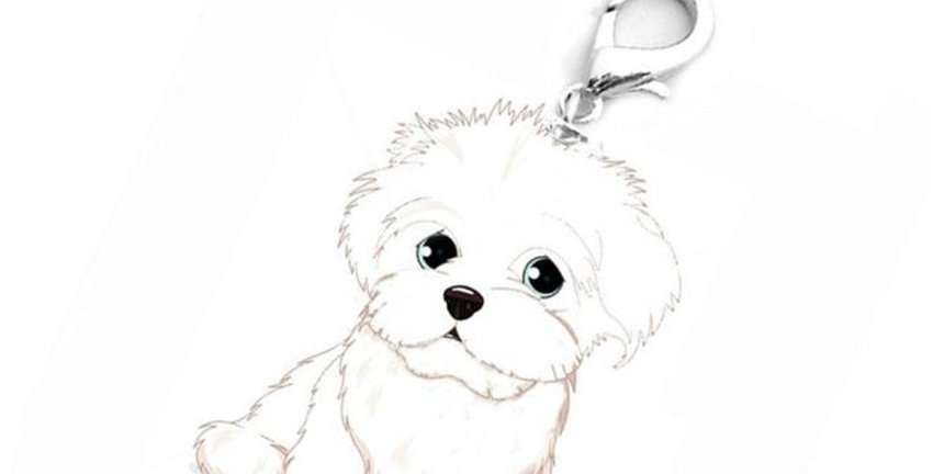 Dog Tag Disk Pet ID Enamel Necklace Accessories
